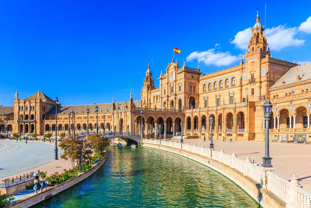 Plaza de Espana - Sevilla i Spanien