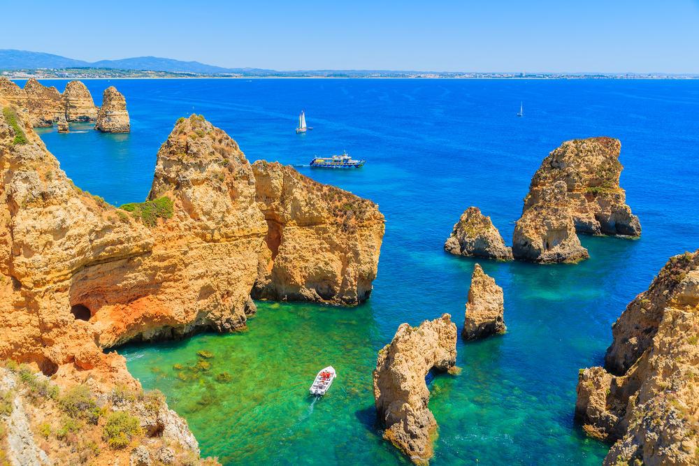 Ponta da Piedade - Algarve i Portugal