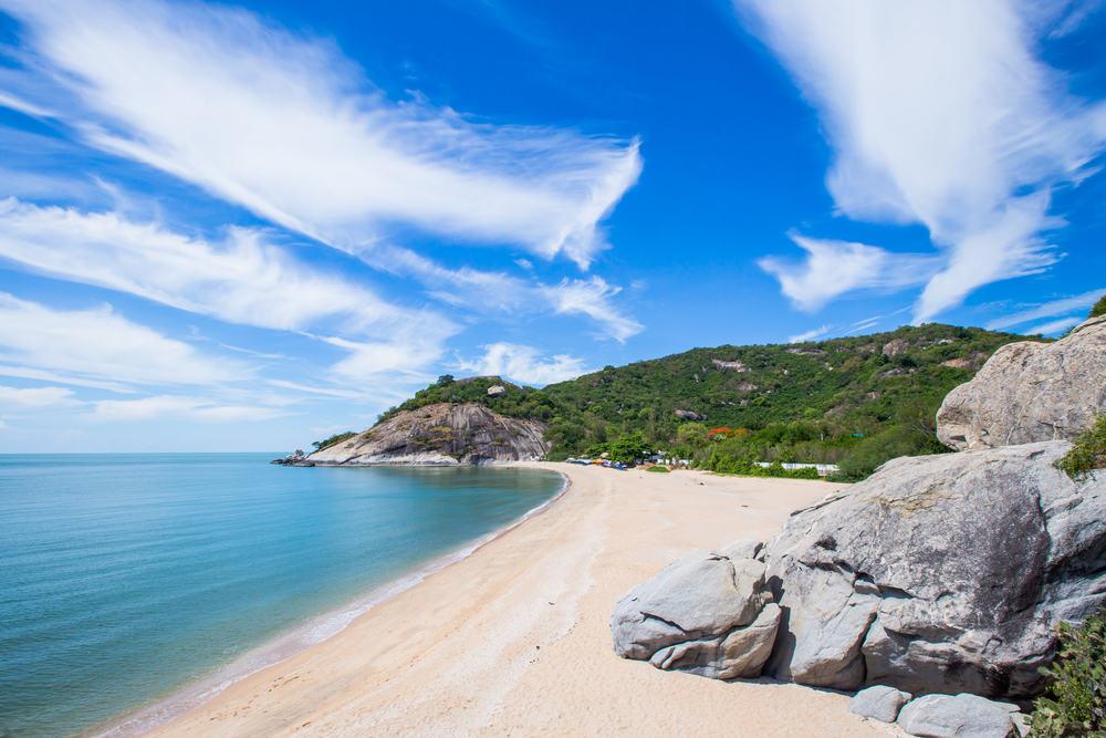Sainoi stranden - Hau Hin i Thailand
