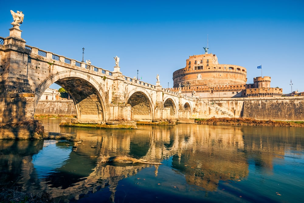 Saint Angel slottet - Rom i Italien