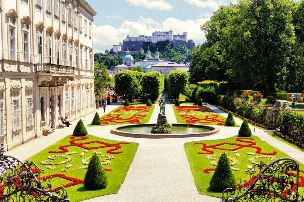 Salzburg i Østrig