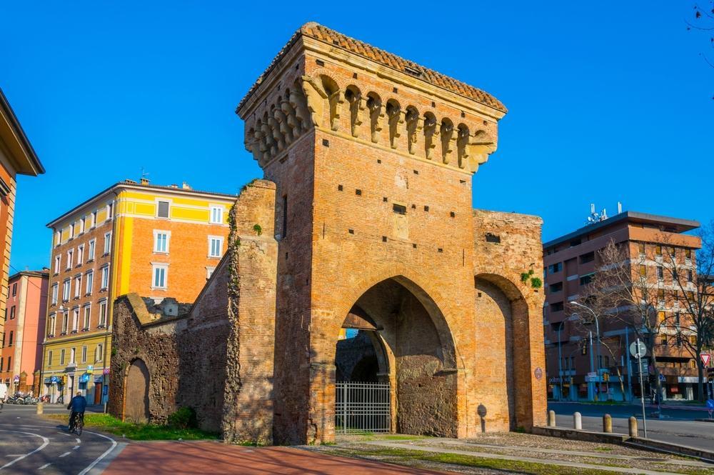San Donato porten - Bologna i Italien