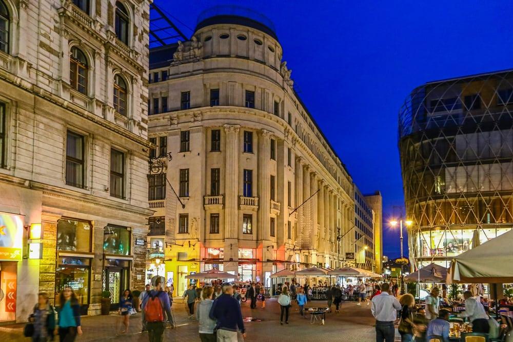 Shopping - Budapest i Ungarn
