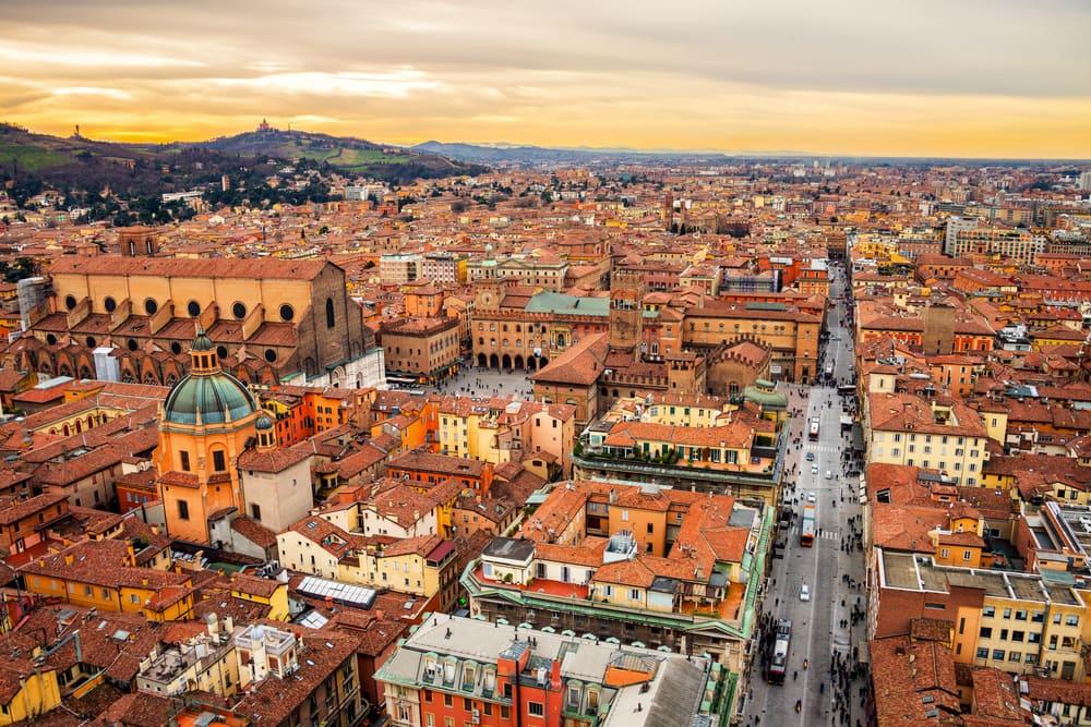Bologna skyline - Italien