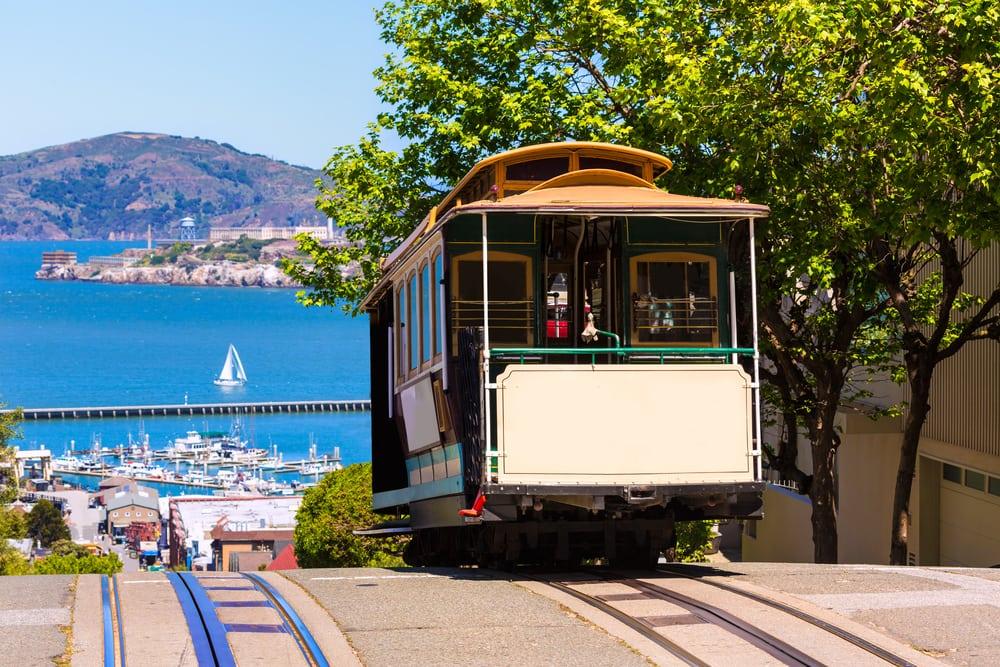 Sporvogn - San Francisco i Californien - USA