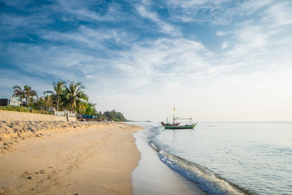 Strand i Hua Hin - Thailand
