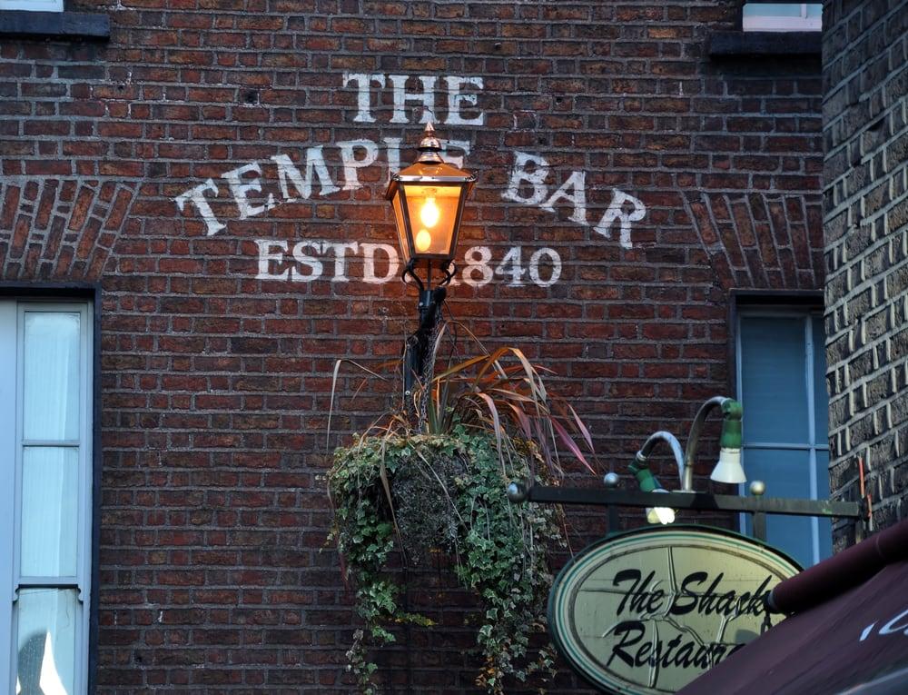 The Temple Bar - Dublin i Irland