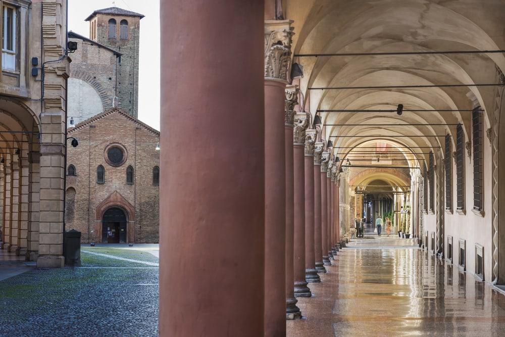 Via Santo Stefano - Bologna i Italien