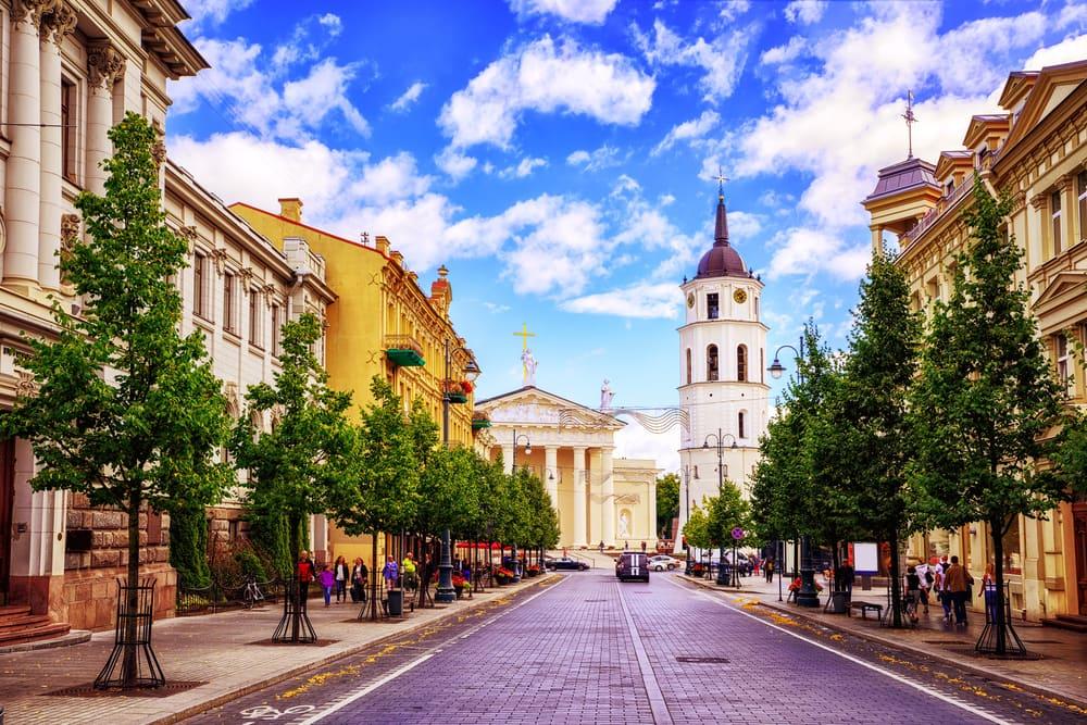 Vilnius i Litauen