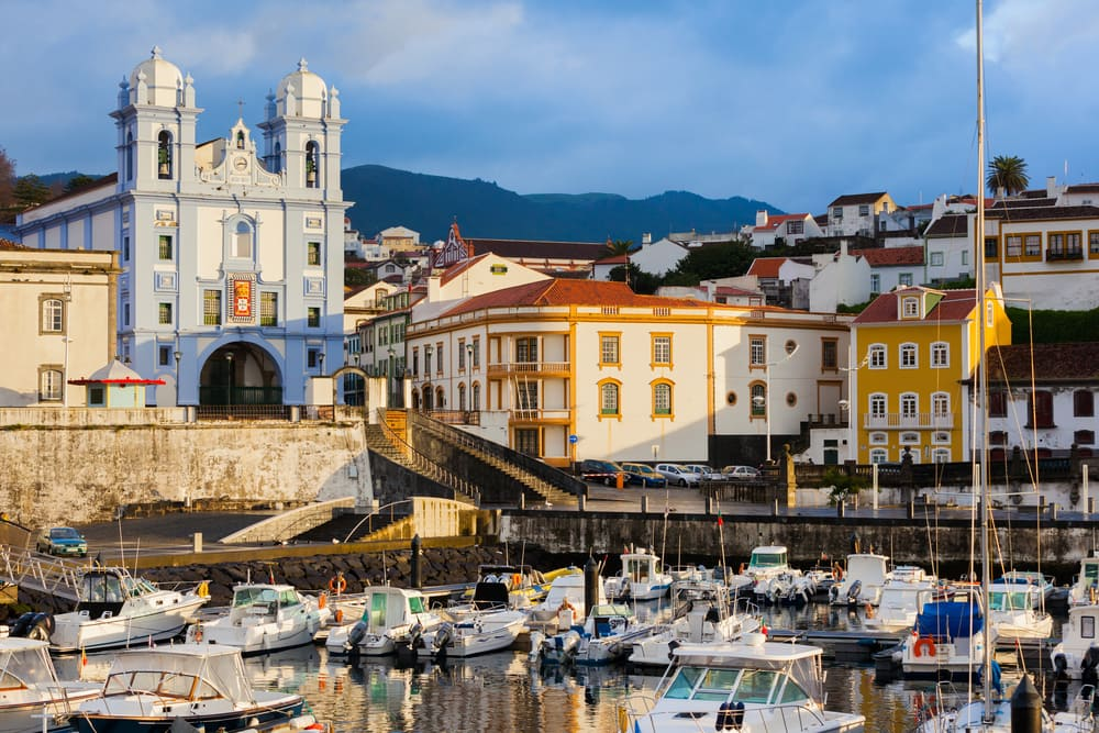 Angra do Heroismo - Azorerne i Portugal