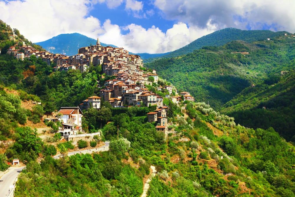 Sestri Levante i Ligurien