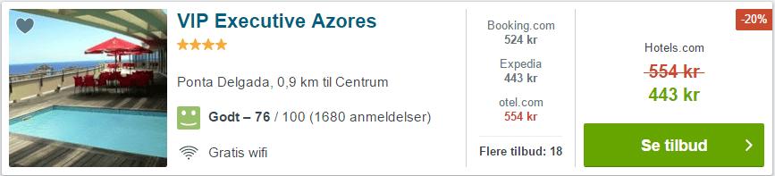 VIP Executive Azores - Azorerne i Portugal