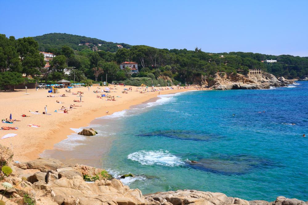 Cala Rovira - Costa Brava i Spanien