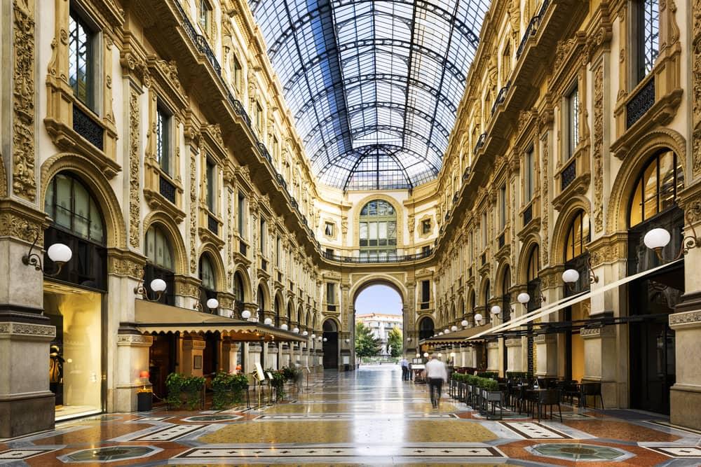 Galleria Vittorio Emanuele - Milano i Italien