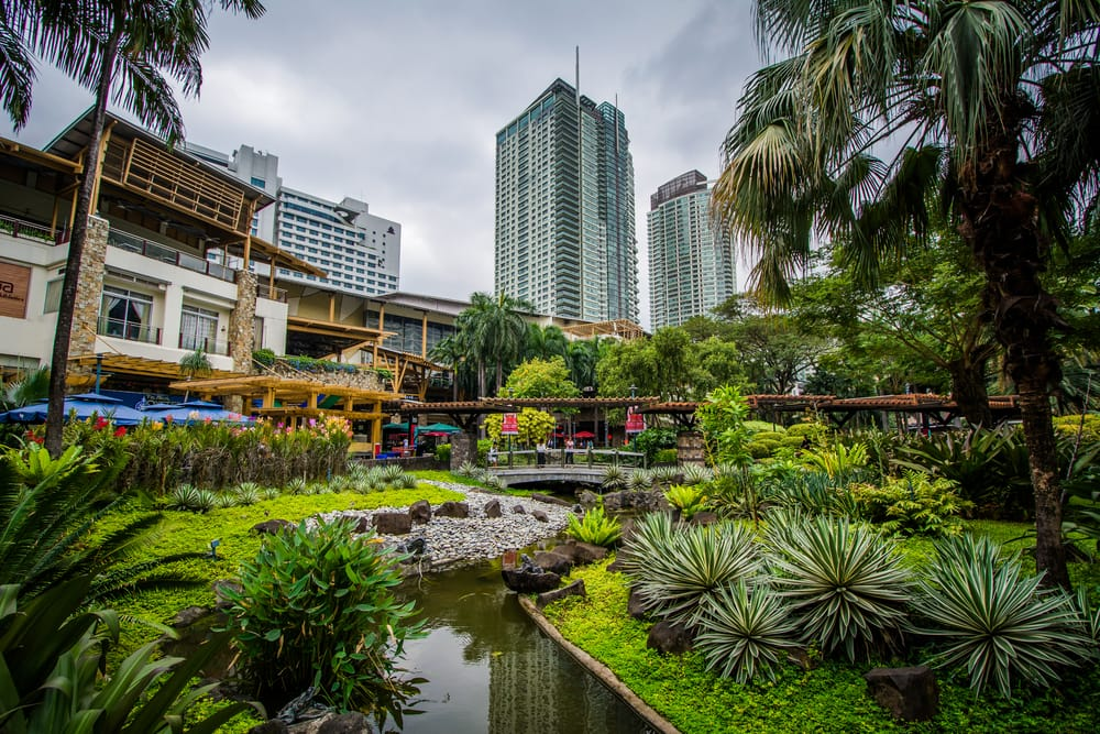 Greenbelt Park i Manila - Filippinerne