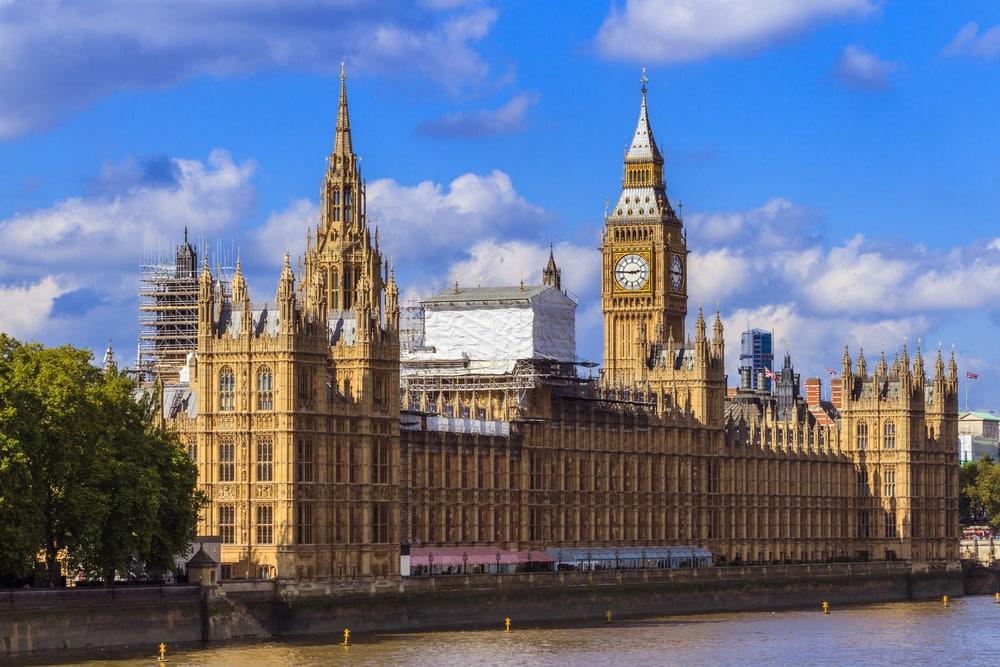 Houses of Parliament - London i England