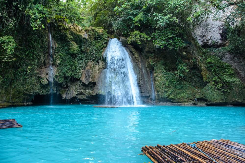 Kawasan vandfaldet - Filippinerne