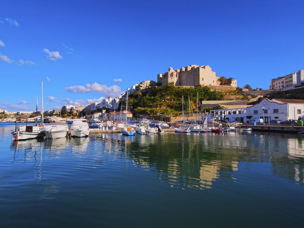 Mao - hovedbyen på Menorca - Spanien