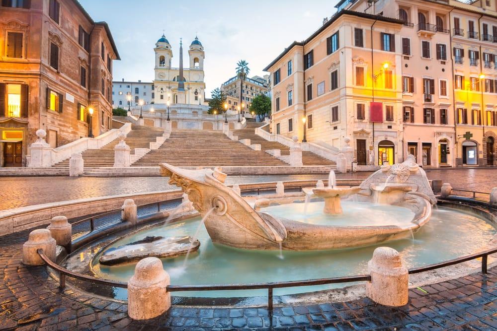 Piazza de Spagna - Rom i Italien