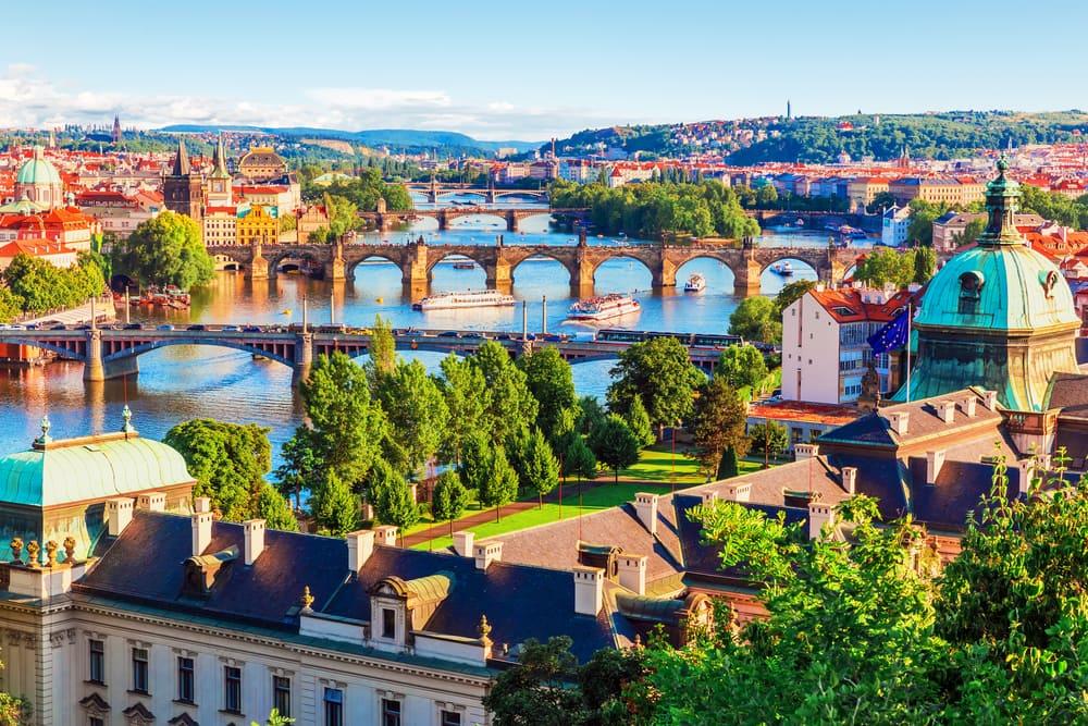 Prag i juni