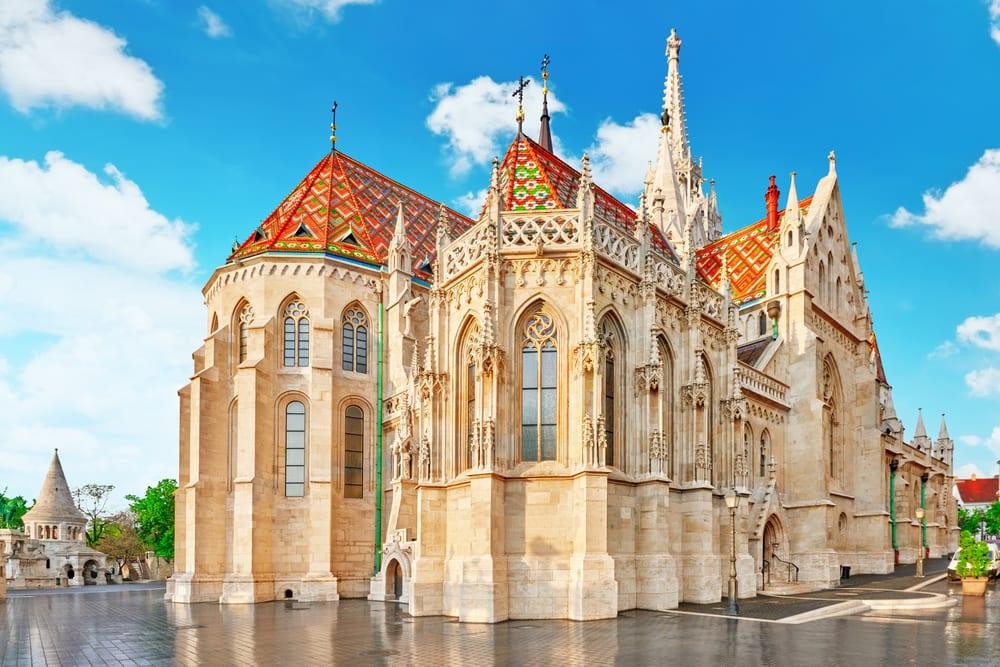 St. Matthias - Budapest i Ungarn