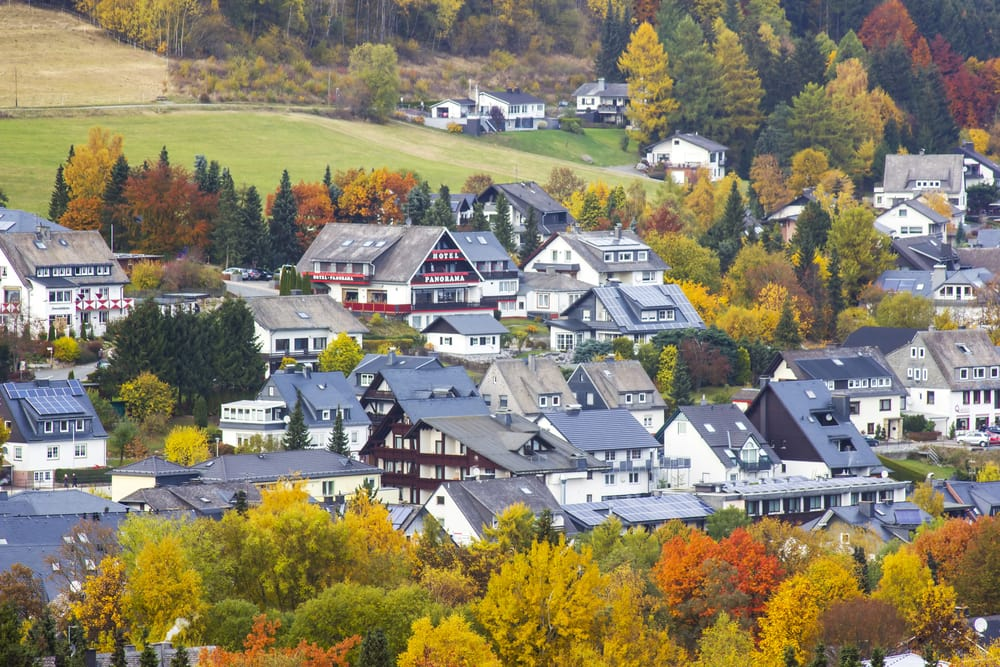 Willingen - Sauerland i Tyskland