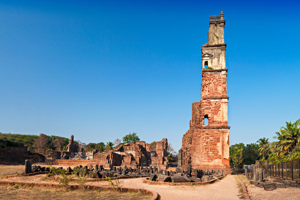 Augustine ruinerne - Goa i Indien