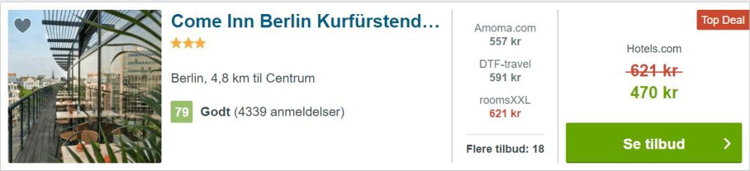 Come Inn Berlin Kurfürstendamm Opera