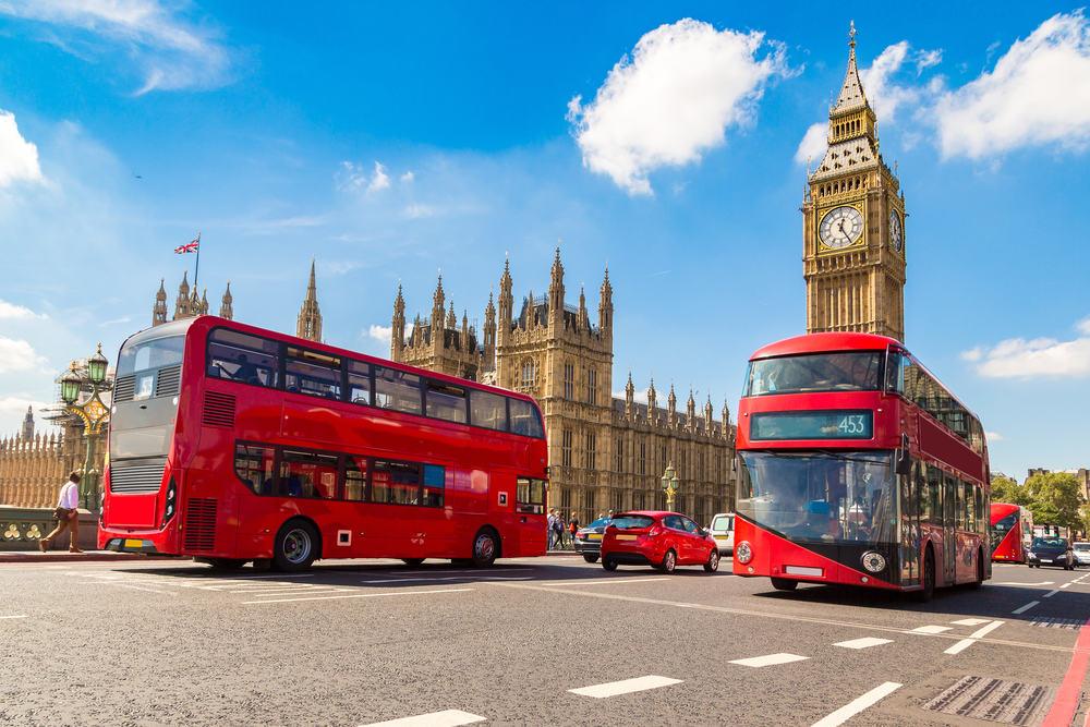 Flyv til London i juni