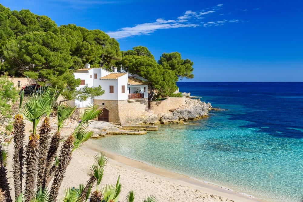 Cala Gat stranden - Mallorca i Spanien