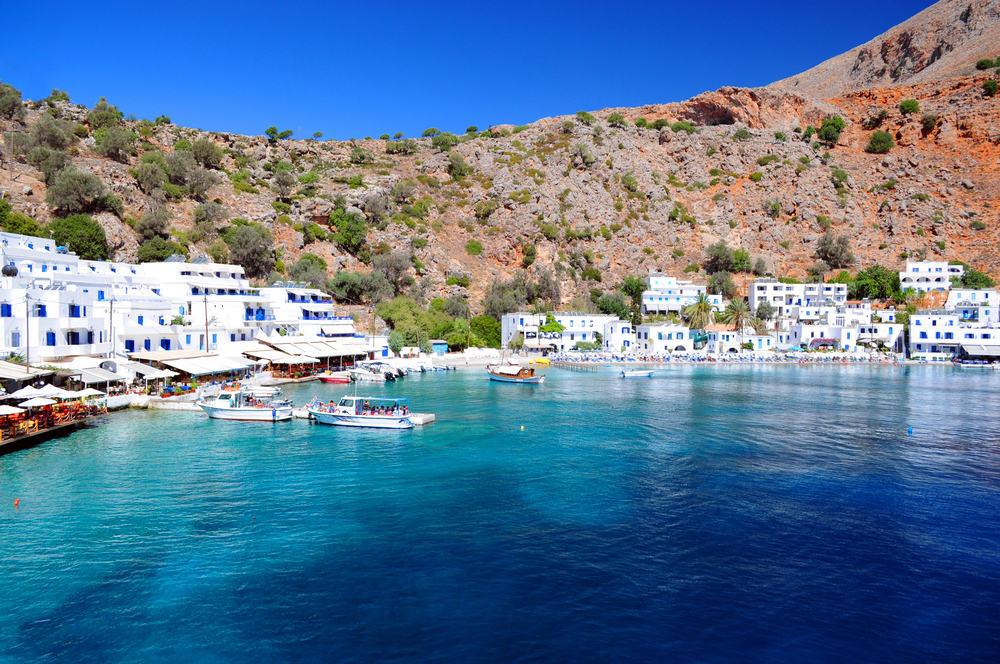 Loutro - Kreta i Grækenland