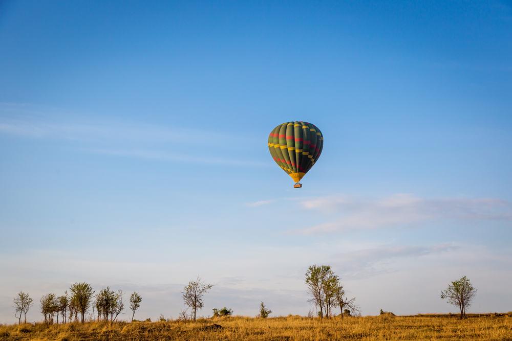 Luftballon over savannen - Tanzania i Afrika