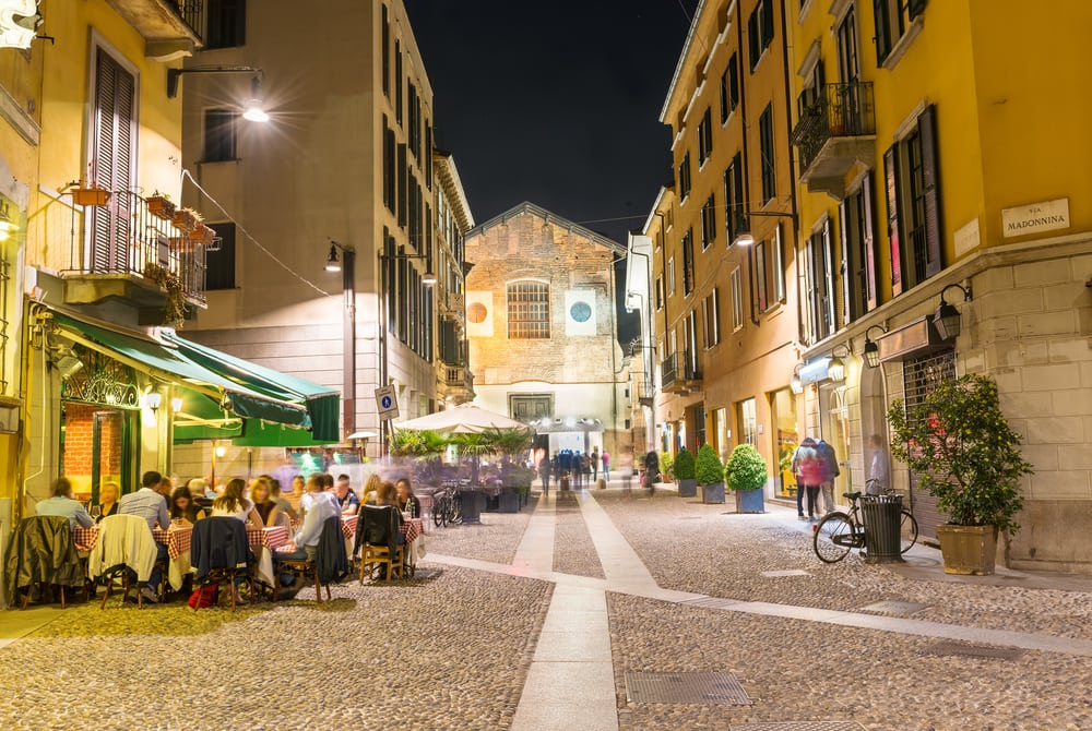 Milano i juni
