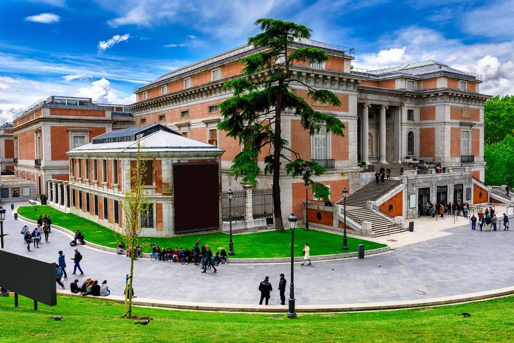 Museo Nacional del Prado - Madrid i Spanien