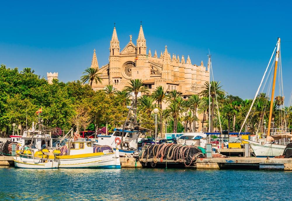 Palma de Majorca - Mallorca i Spanien