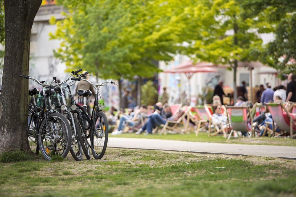Park i Berlin - Tyskland