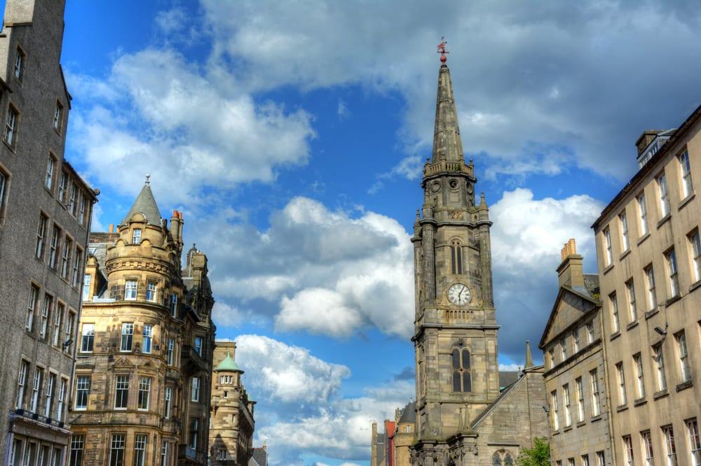 The Royal Mile - Edinburgh i Skotland