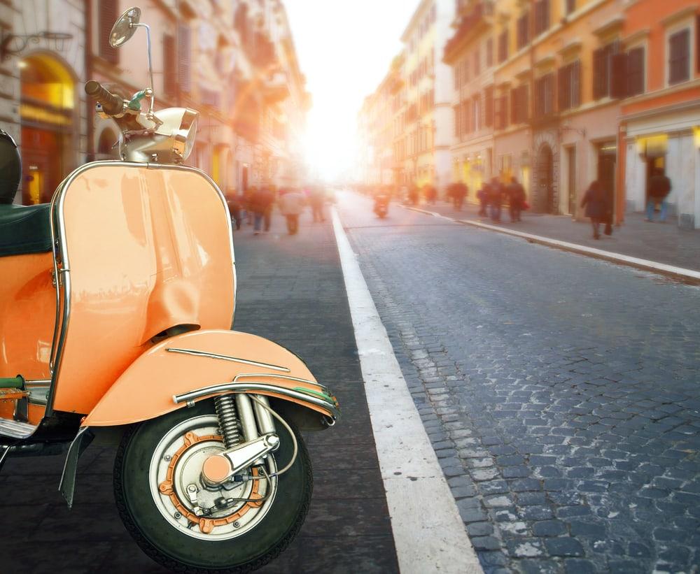 Scooter - Rom i Italien