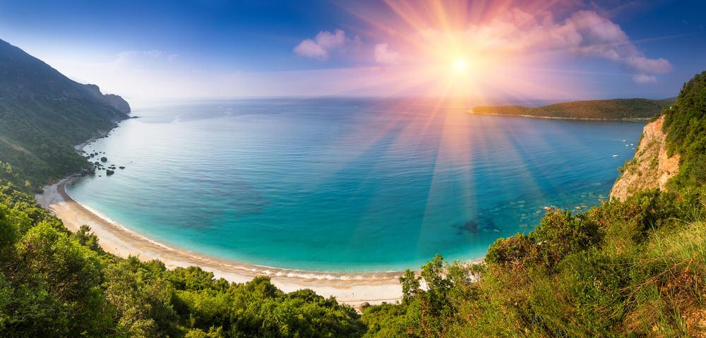 Smuk strand - Budva i Montenegro