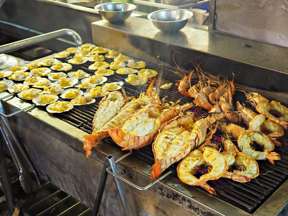 Street food - Hua Hin i Thailand