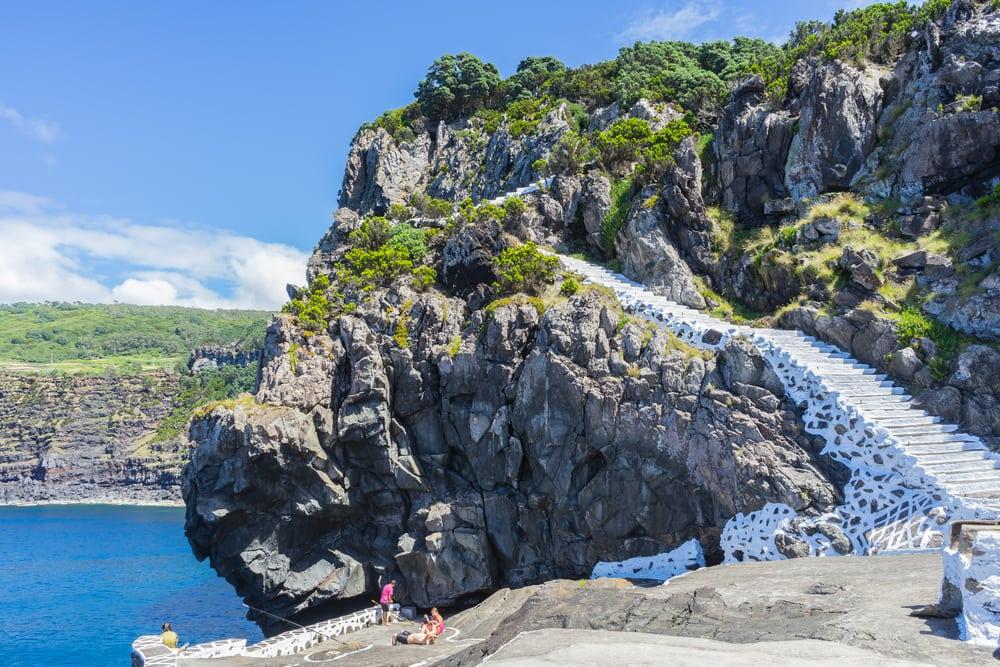 Terceira klipperne - Azorerne i Portugal