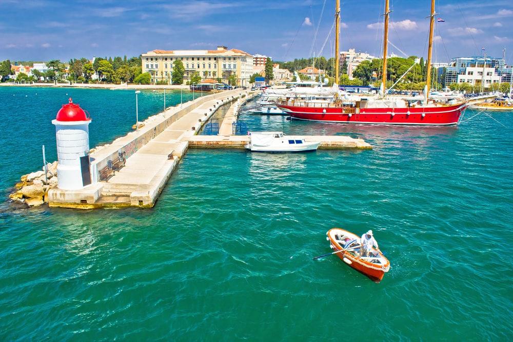 Zadar i Kroatien