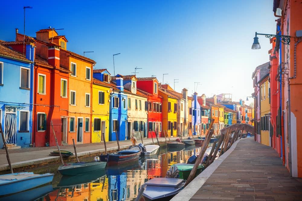 Burano - Venedig i Italien