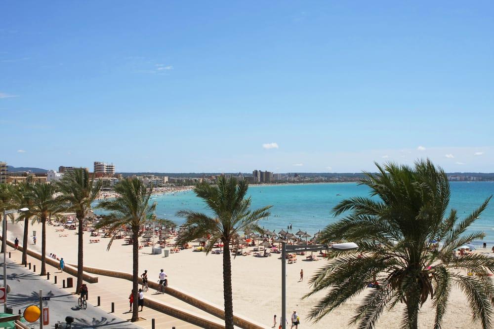 Can Pastilla stranden - Mallorca
