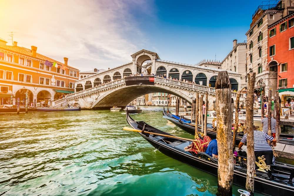 Canal Grande - Venedig i Italien