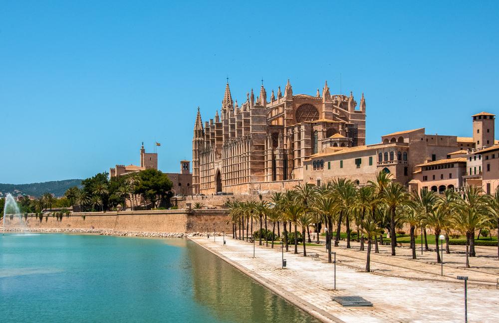 Catedral de Mallorca - Mallorca i Spanien