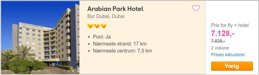 En uges ferie i Dubai med Spies