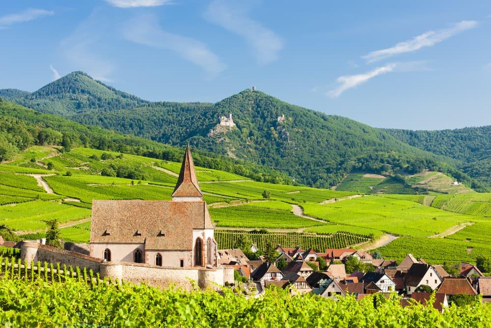 Hunawihr - Alsace i Frankrig