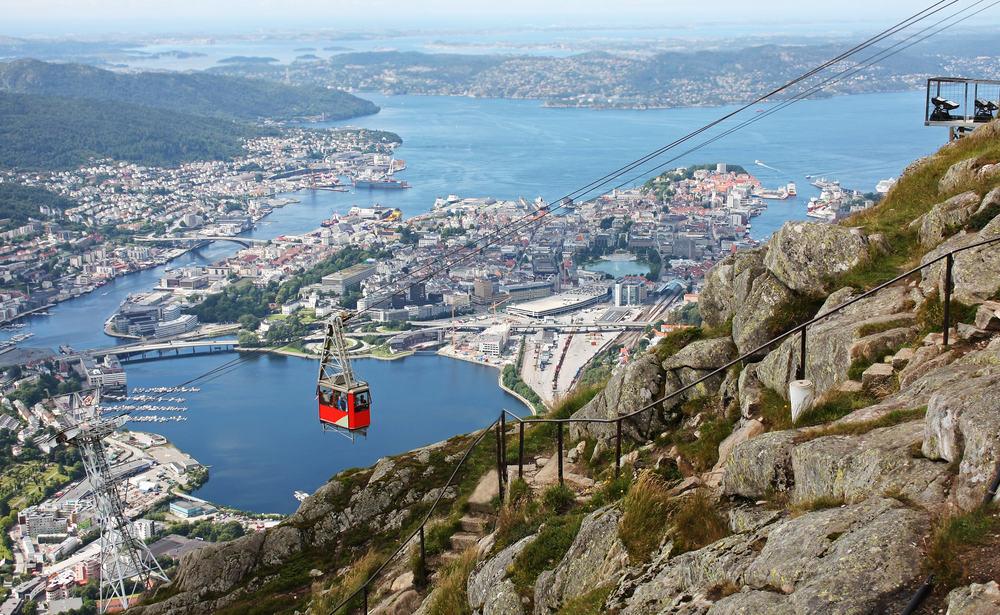 Rundrejse i Norge
