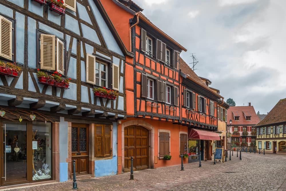 Kaysersberg - Alsace i Frankrig